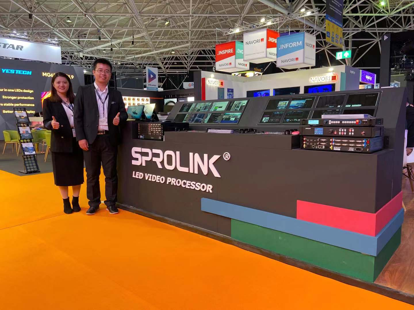 SPROLINK presents its innovative products in ISE 2020